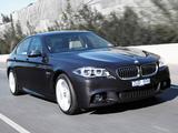 BMW 550i Sedan M Sport Package AU-spec (F10) 2013 pictures