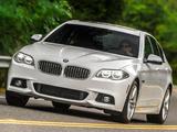 BMW 535d Sedan M Sport Package US-spec (F10) 2013 pictures