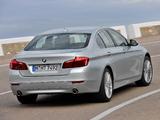 BMW 535i Sedan Luxury Line (F10) 2013 pictures