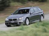 BMW 535i Touring M Sport Package AU-spec (F11) 2014 images