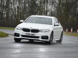BMW 520d xDrive Sedan M Sport UK-spec (G30) 2017 images
