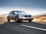 BMW 520d Sedan M Sport UK-spec (G30) 2017 images