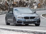 BMW 520d Sedan M Sport UK-spec (G30) 2017 photos