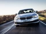 BMW 520d SE Sedan UK-spec (G30) 2017 photos