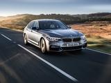 BMW 520d Sedan M Sport UK-spec (G30) 2017 pictures