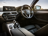 BMW 520d SE Sedan UK-spec (G30) 2017 pictures