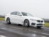 BMW 520d xDrive Sedan M Sport UK-spec (G30) 2017 pictures