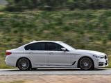 BMW 520d Sedan M Sport ZA-spec (G30) 2017 pictures