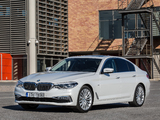 BMW 520d Sedan Luxury Line (G30) 2017 pictures