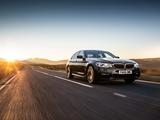 BMW 530i xDrive Sedan M Sport UK-spec (G30) 2017 wallpapers