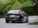 BMW 530d xDrive Sedan Luxury Line (G30) 2017 wallpapers