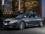 BMW 540i Sedan M Sport AU-spec (G30) 2017 wallpapers