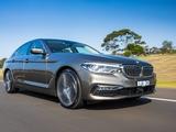 BMW 530d Sedan Luxury Line AU-spec (G30) 2017 wallpapers