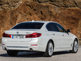BMW 520d Sedan Luxury Line (G30) 2017 wallpapers