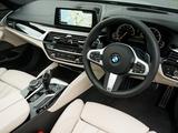 BMW 520d Sedan M Sport UK-spec (G30) 2017 wallpapers