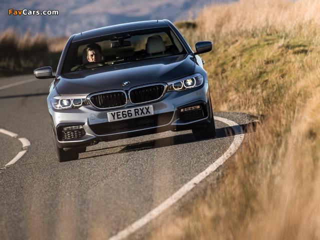 BMW 520d Sedan M Sport UK-spec (G30) 2017 wallpapers (640 x 480)