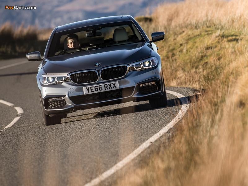 BMW 520d Sedan M Sport UK-spec (G30) 2017 wallpapers (800 x 600)