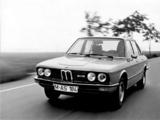 BMW 525 Sedan (E12) 1973–76 photos