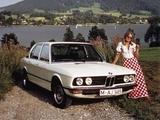 BMW 525 Sedan (E12) 1973–76 pictures