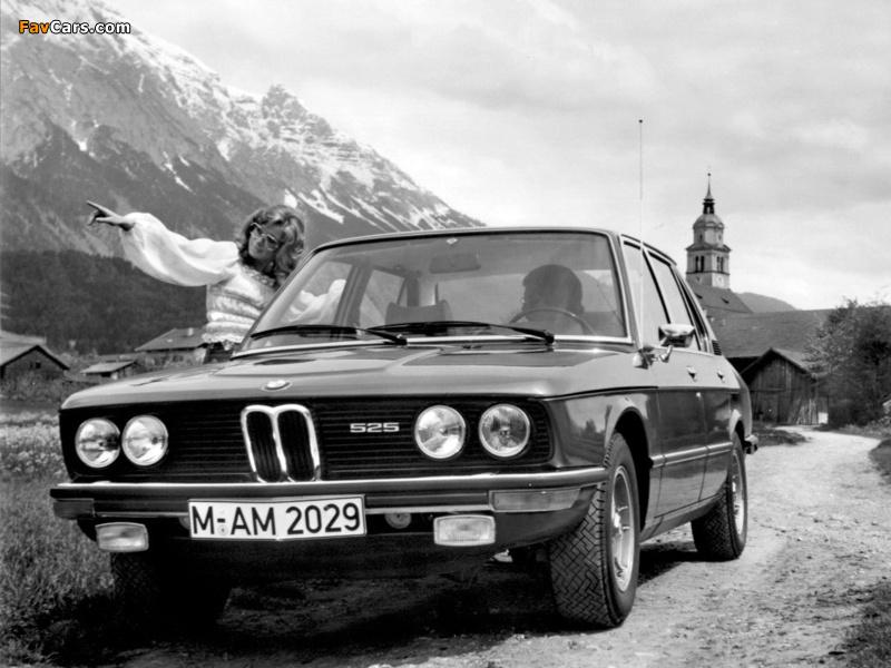 BMW 525 Sedan (E12) 1973–76 wallpapers (800 x 600)