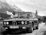 BMW 525 Sedan (E12) 1973–76 wallpapers