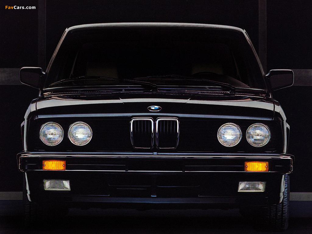 Bmw 5 Series Sedan Us Spec E28 198288 Wallpapers