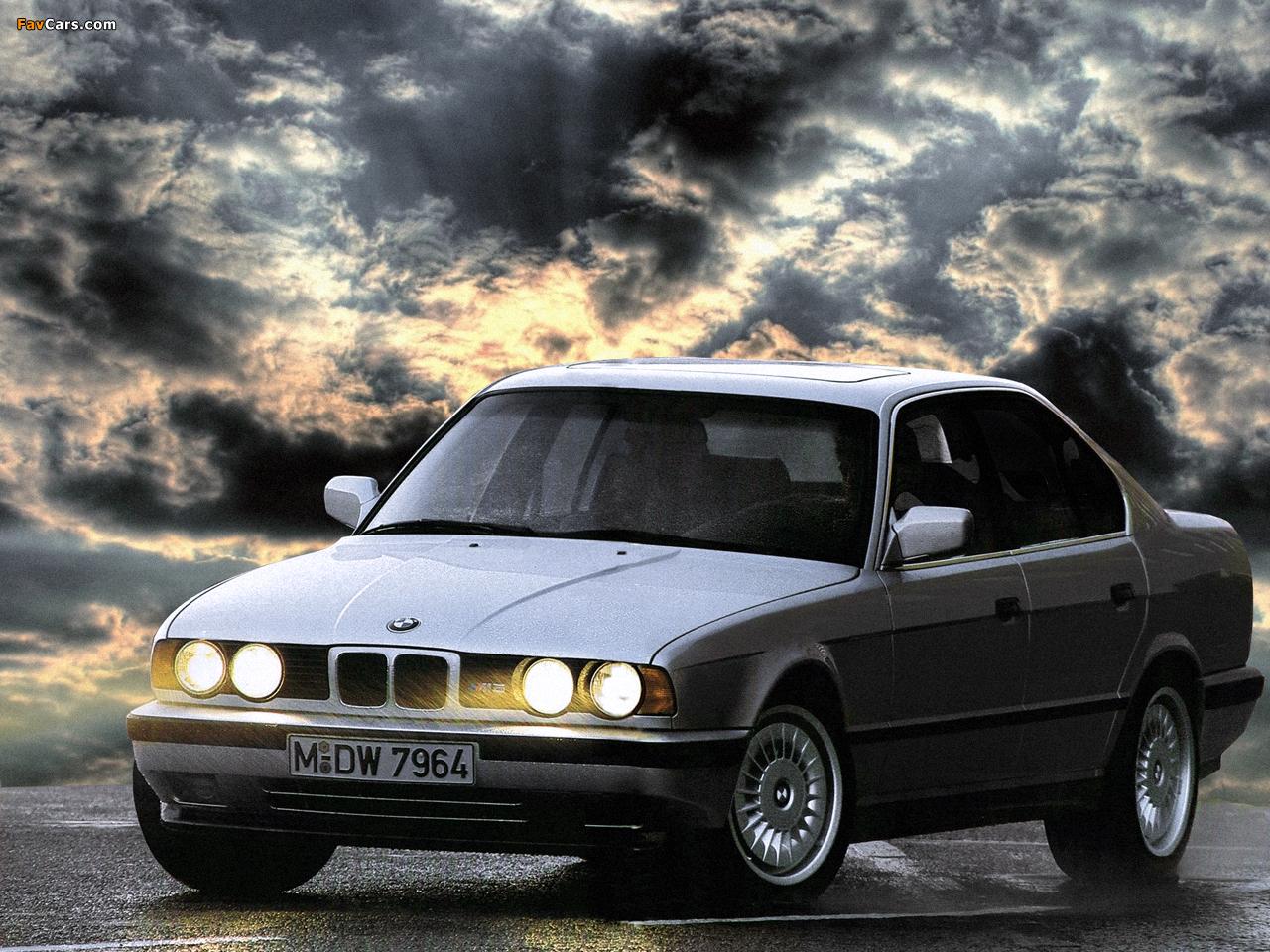 BMW M5 (E34) 1988-92 wallpapers (1280x960)