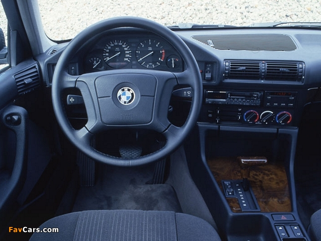 BMW 5 Series Touring (E34) 1992–95 pictures (640 x 480)