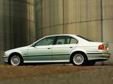 BMW 540i Sedan UK-spec (E39) 1996–2000 photos