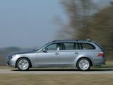 BMW 530d Touring (E61) 2004–07 images