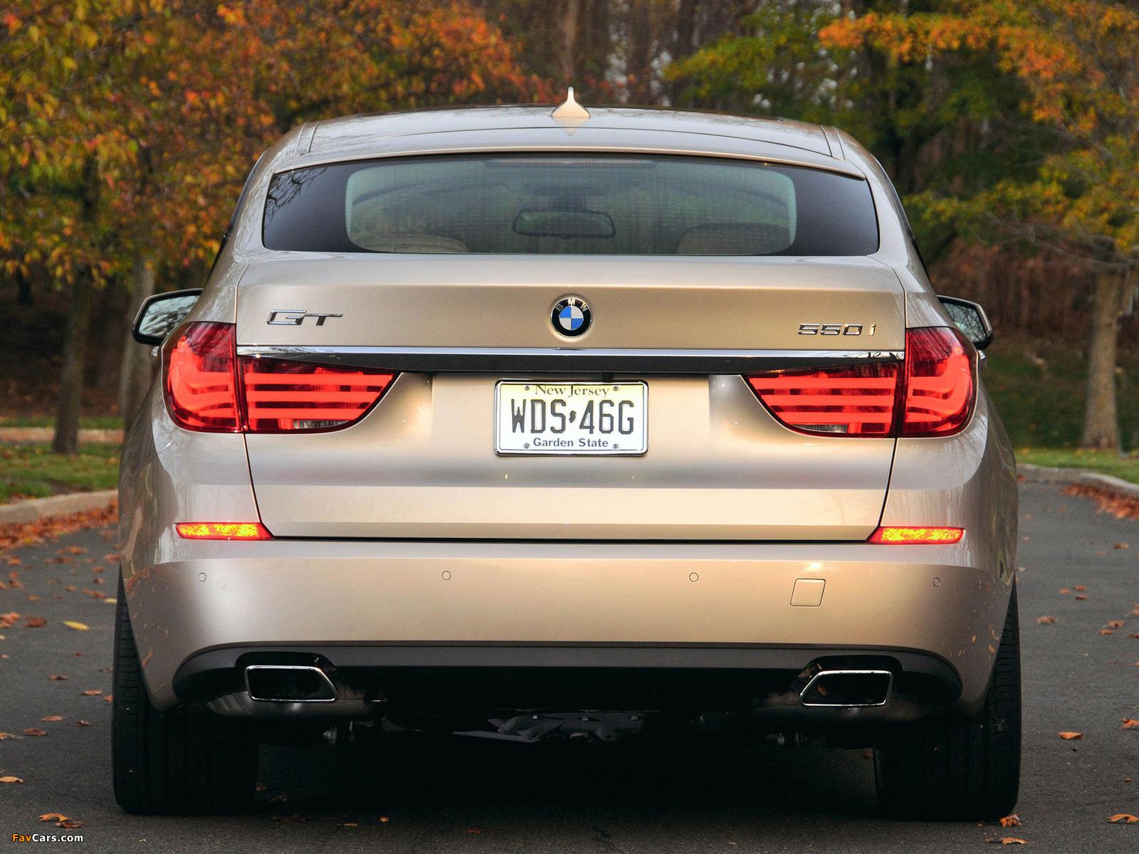 Images of BMW 550i Gran Turismo US-spec (F07) 2009–13 (1600 x 1200)