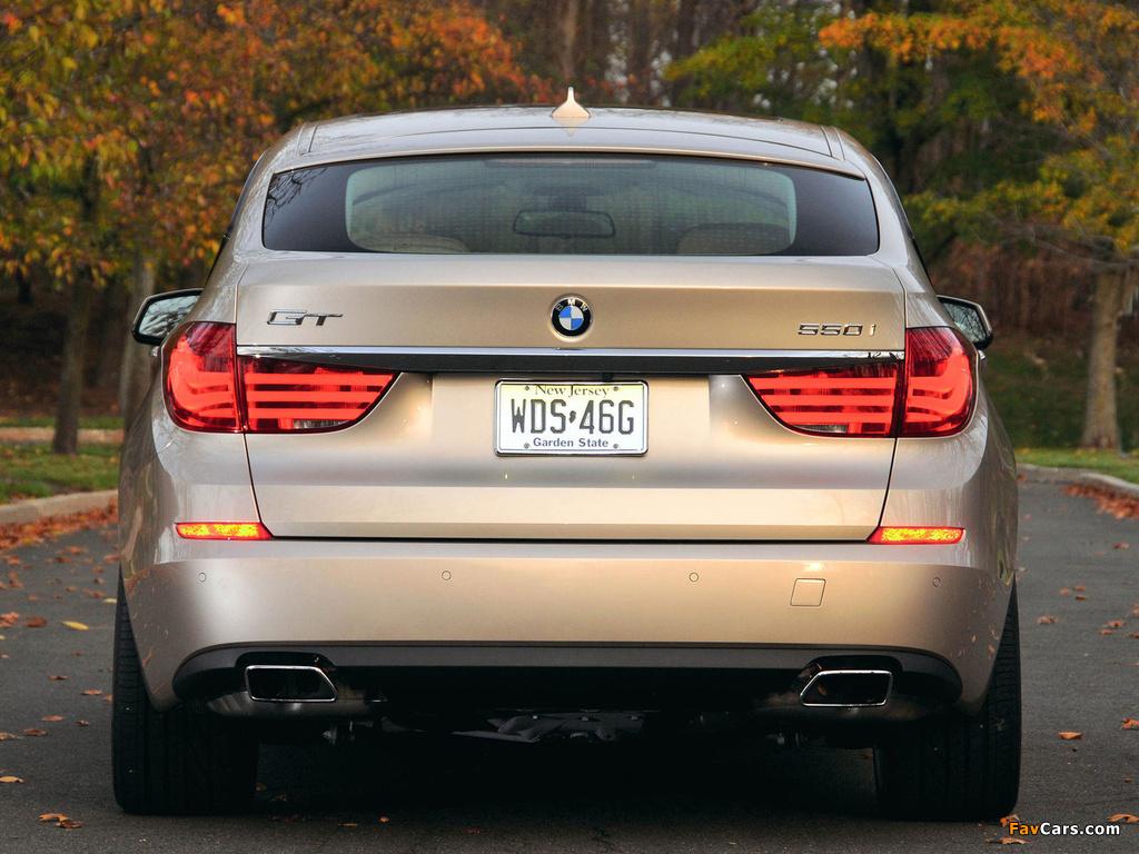 Images of BMW 550i Gran Turismo US-spec (F07) 2009–13 (1024 x 768)