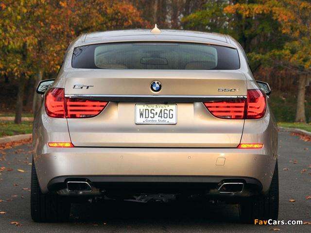 Images of BMW 550i Gran Turismo US-spec (F07) 2009–13 (640 x 480)