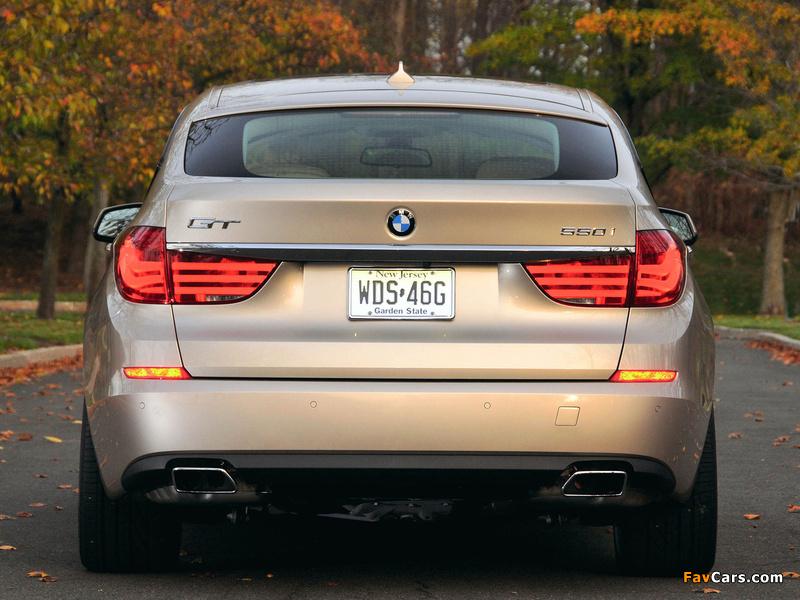 Images of BMW 550i Gran Turismo US-spec (F07) 2009–13 (800 x 600)