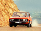 Images of BMW 525 Sedan (E12) 1973–76