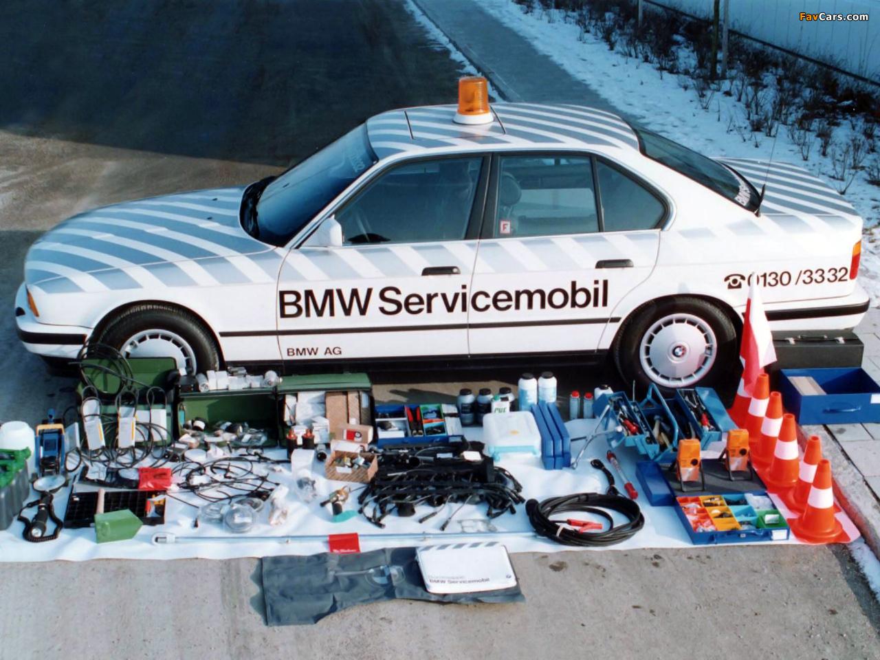 Images of BMW 5 Series Servicemobil (E34) 1988–95 (1280 x 960)