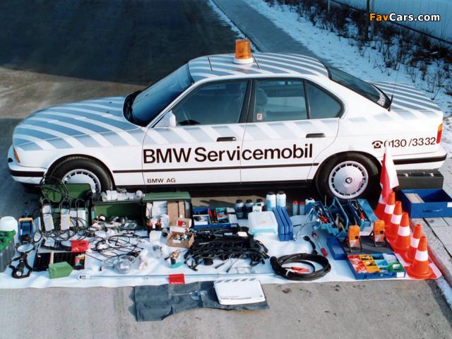Images of BMW 5 Series Servicemobil (E34) 1988–95 (640 x 480)