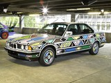 Images of BMW 525i Art Car by Esther Mahlangu (E34) 1992