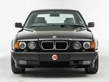 Images of BMW 540i UK-spec (E34) 1992–95
