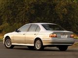 Images of BMW 530i Sedan US-spec (E39) 2000–03
