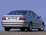 Images of BMW 520d Sedan (E39) 2000–03