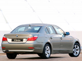 Images of BMW 525i Sedan ZA-spec (E60) 2003–07