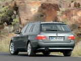 Images of BMW 545i Touring (E61) 2004–05