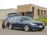Images of BMW 530i Touring M Sports Package AU-spec (E61) 2005