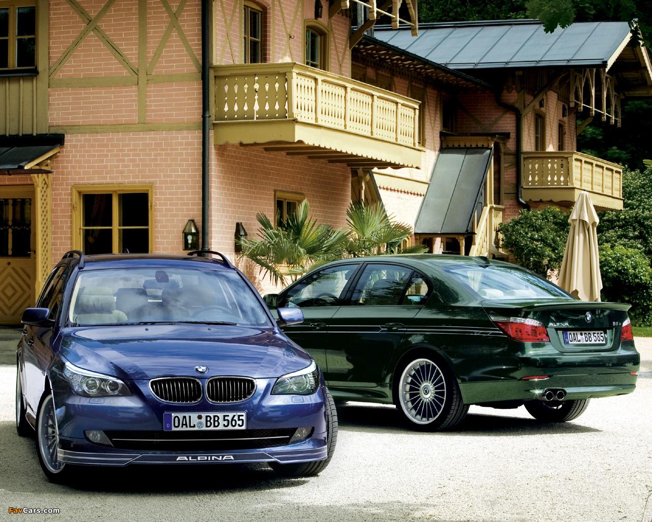 Images of Alpina BMW 5 Series (E60-E61) 2005–10 (1280 x 1024)