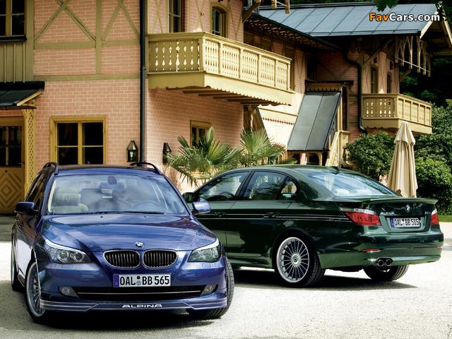 Images of Alpina BMW 5 Series (E60-E61) 2005–10 (640 x 480)