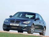 Images of BMW 535d Sedan M Sports Package UK-spec (E60) 2005