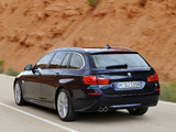 Images of BMW 5 Series Touring (F11) 2010–13