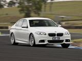 Images of BMW 535d Sedan M Sports Package AU-spec (F10) 2011