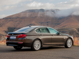 Images of BMW 520i Sedan Luxury Line ZA-spec (F10) 2013